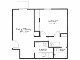 floor plans and rates rolling hills apartments